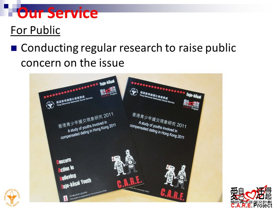 Our Service For Public. Conducting regular research to raise public concern on the issue.