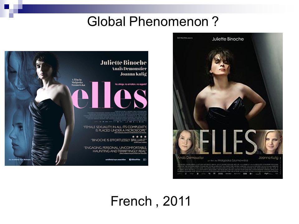 Global Phenomenon French , 2011