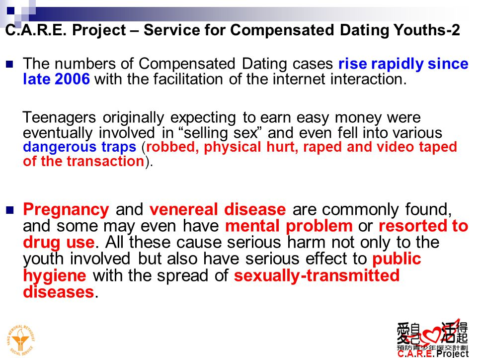 compensated dating trend