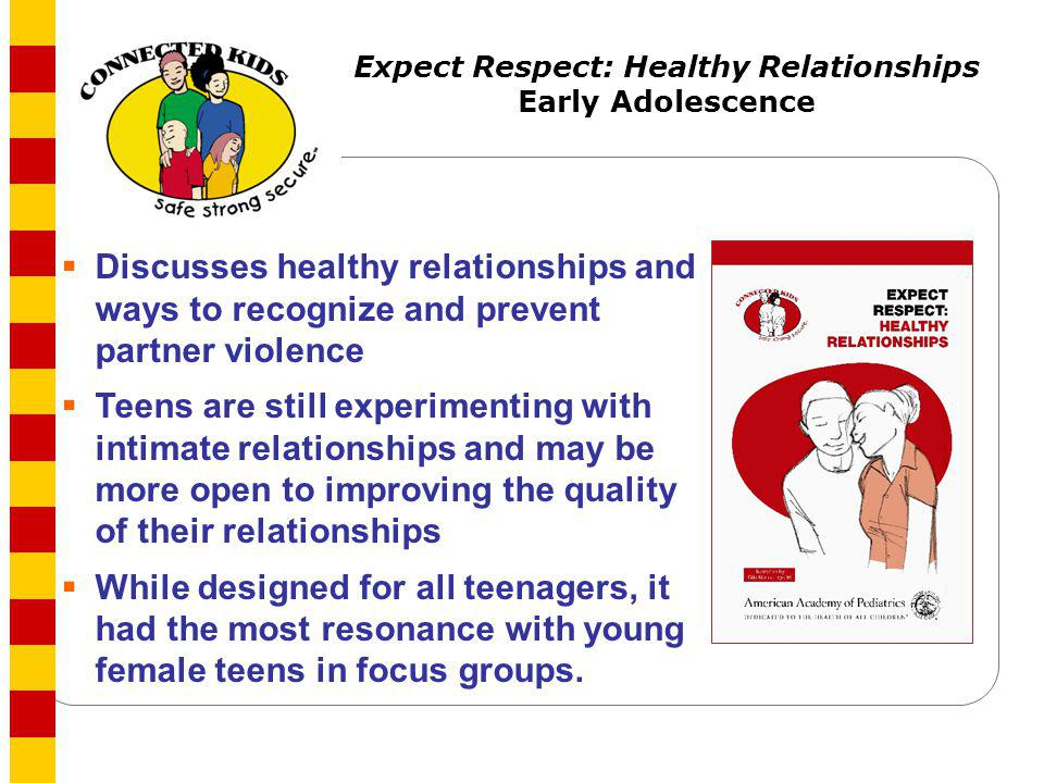 Expect Respect: Healthy Relationships