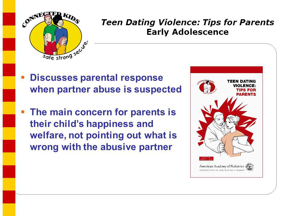 Teen Dating Violence: Tips for Parents
