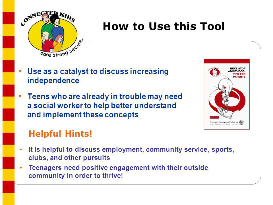 How to Use this Tool Helpful Hints!