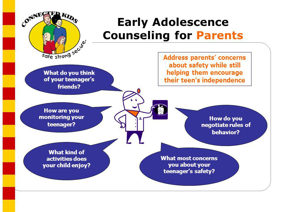 Early Adolescence Counseling for Parents