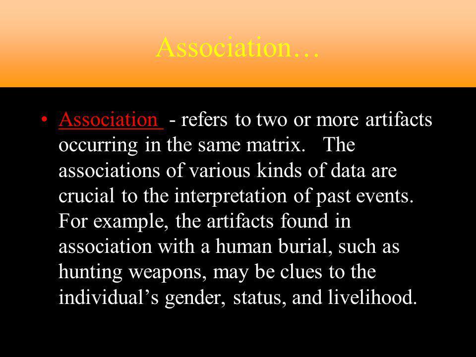 Association…