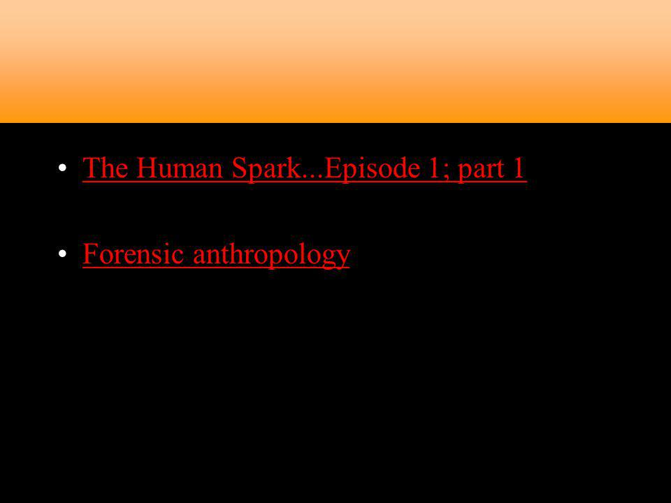 The Human Spark...Episode 1; part 1