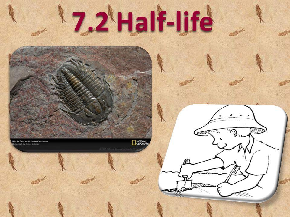 7.2 Half-life