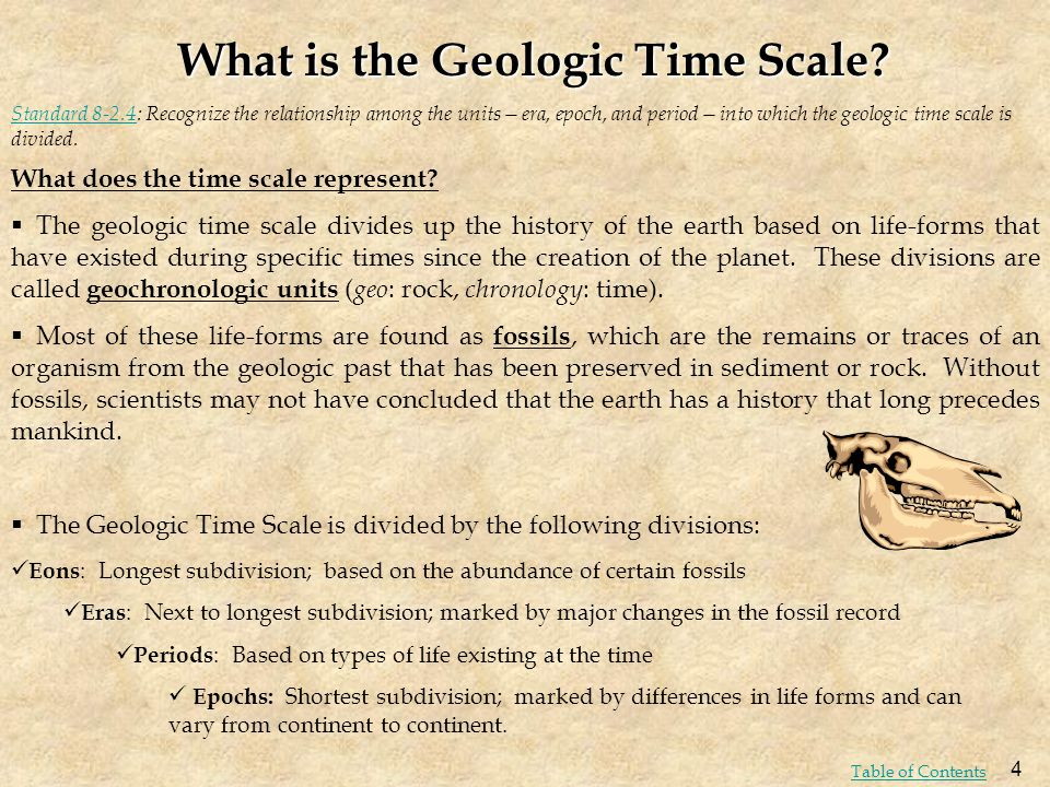 What is the Geologic Time Scale