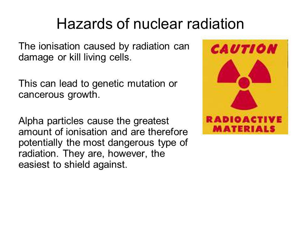 Hazards of nuclear radiation