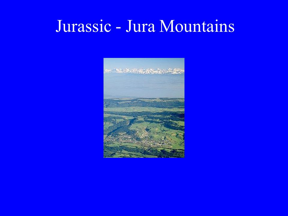 Jurassic - Jura Mountains