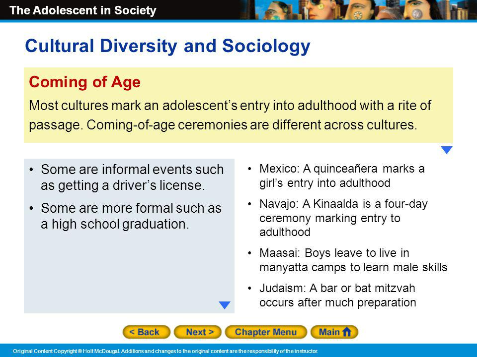 Cultural Diversity and Sociology
