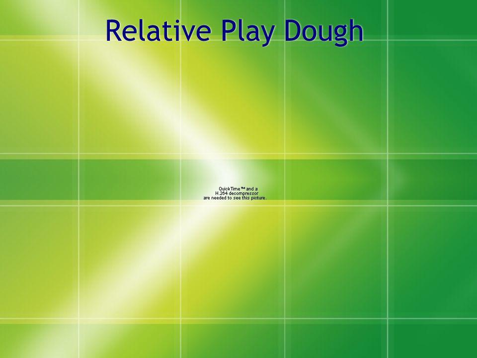 Relative Play Dough
