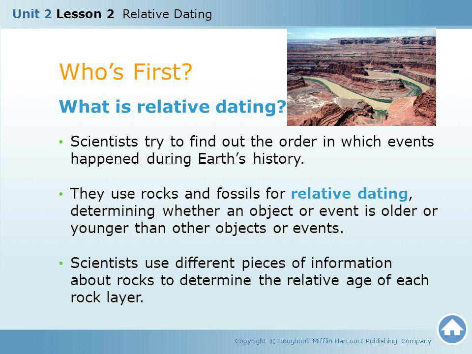 How Is Absolute Dating Of Rocks Different Than Relative Dating