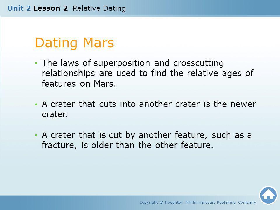 Unit 2 Lesson 2 Relative Dating