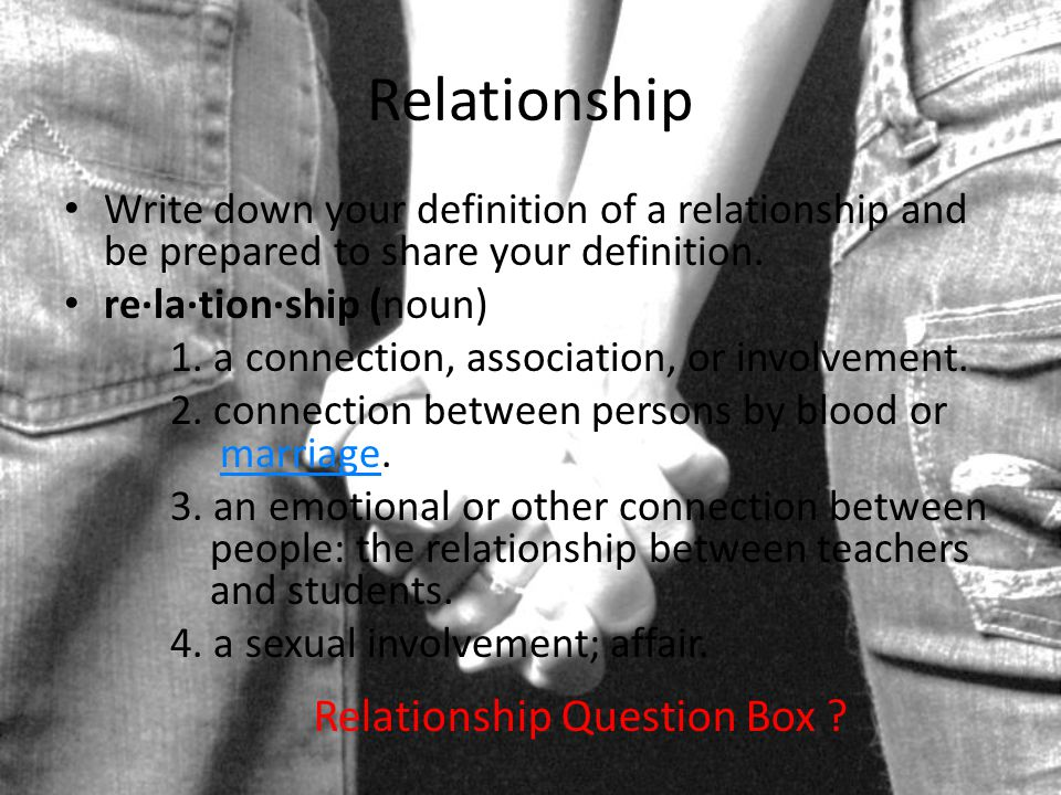 Relationship Question Box