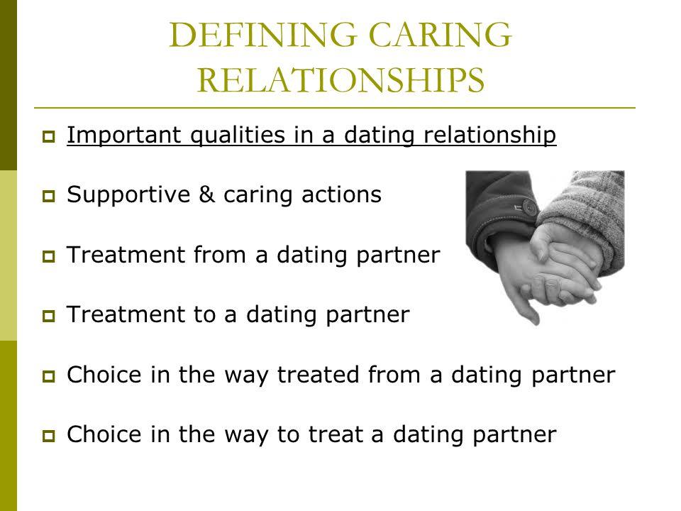 DEFINING CARING RELATIONSHIPS