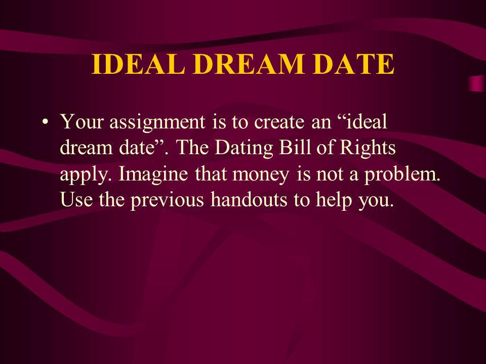 IDEAL DREAM DATE