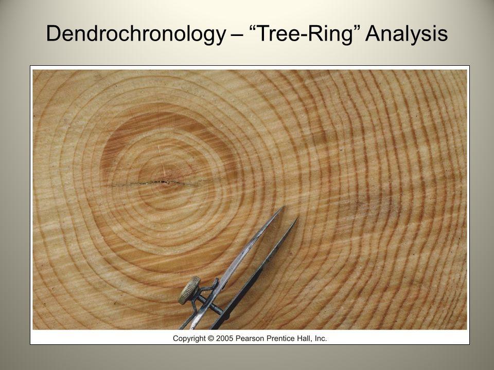 Dendrochronology – Tree-Ring Analysis