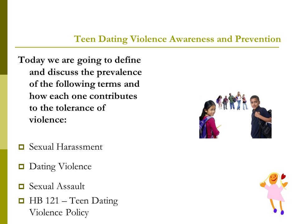 Teen Dating Violence Awareness and Prevention