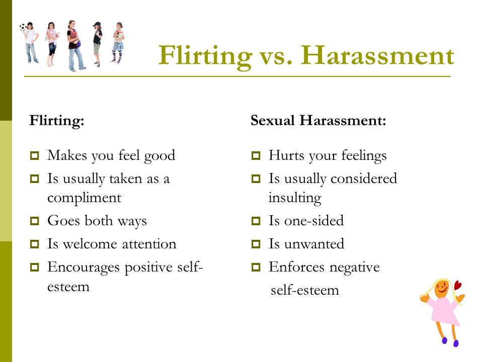 Flirting vs. Harassment