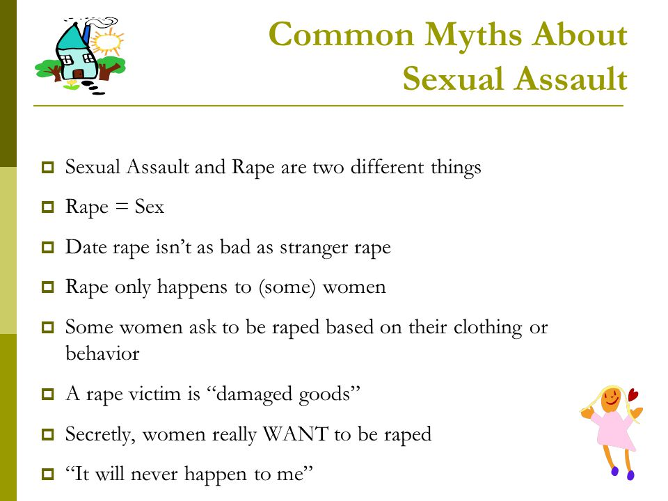 Common Myths About Sexual Assault
