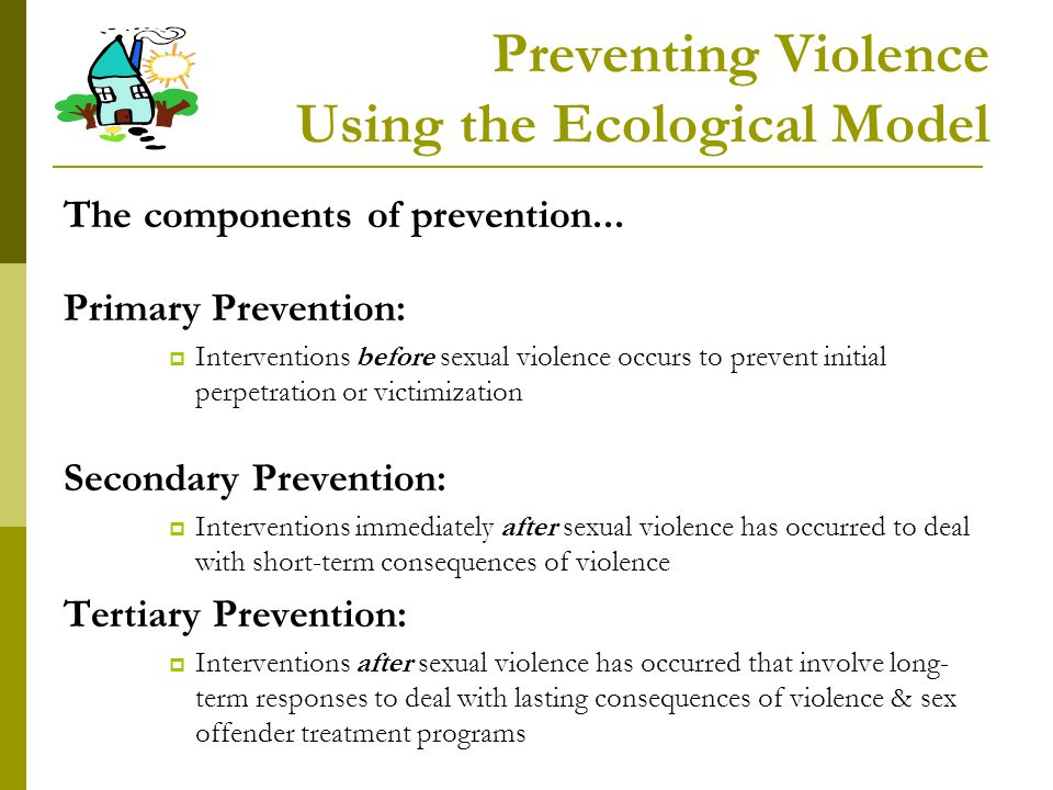 Preventing Violence Using the Ecological Model