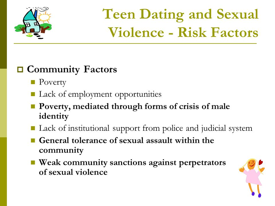 Teen Dating and Sexual Violence - Risk Factors