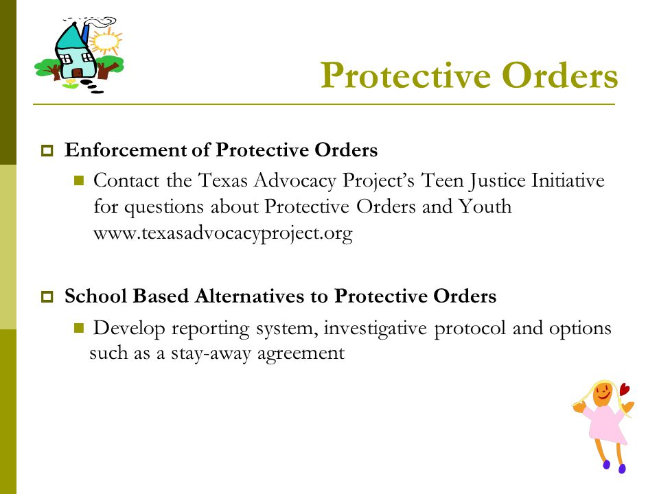 Protective Orders Enforcement of Protective Orders