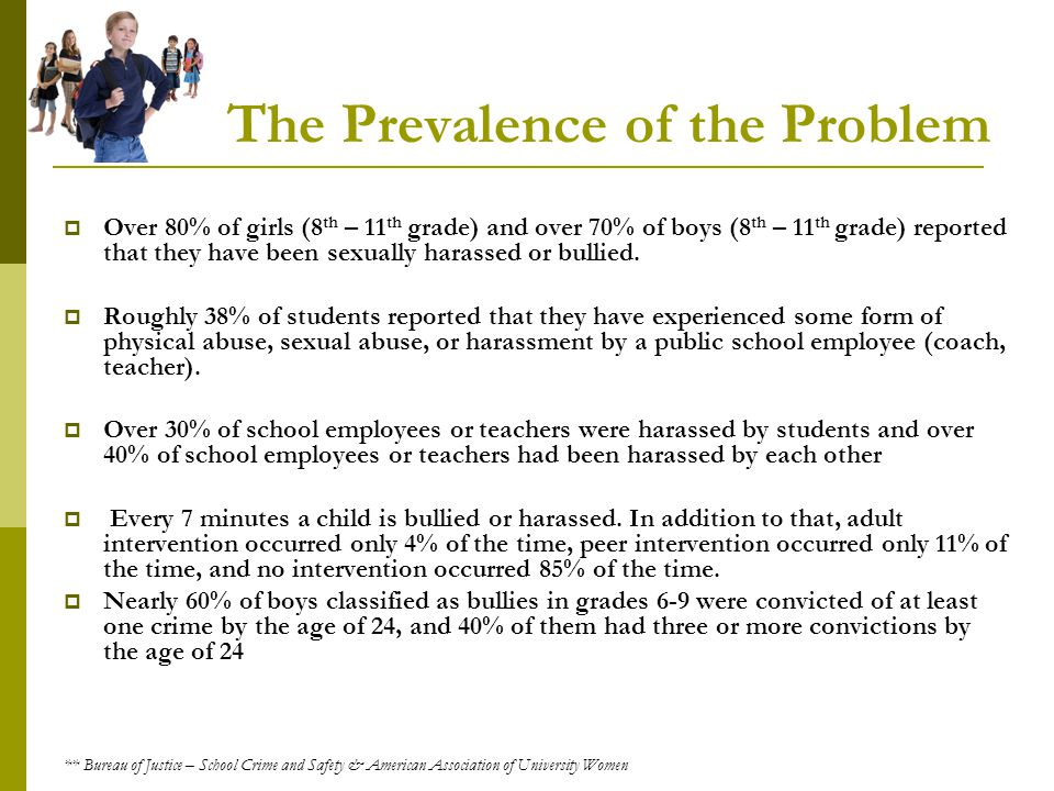 The Prevalence of the Problem