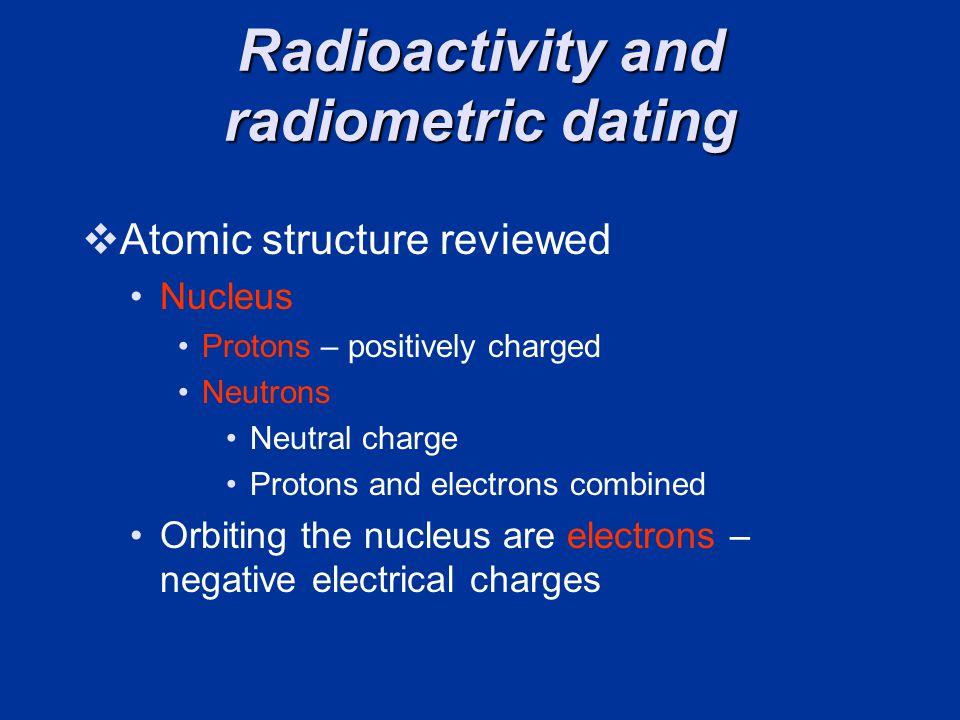 Radioactivity and radiometric dating