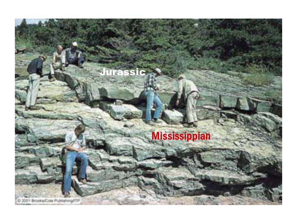 Jurassic Mississippian