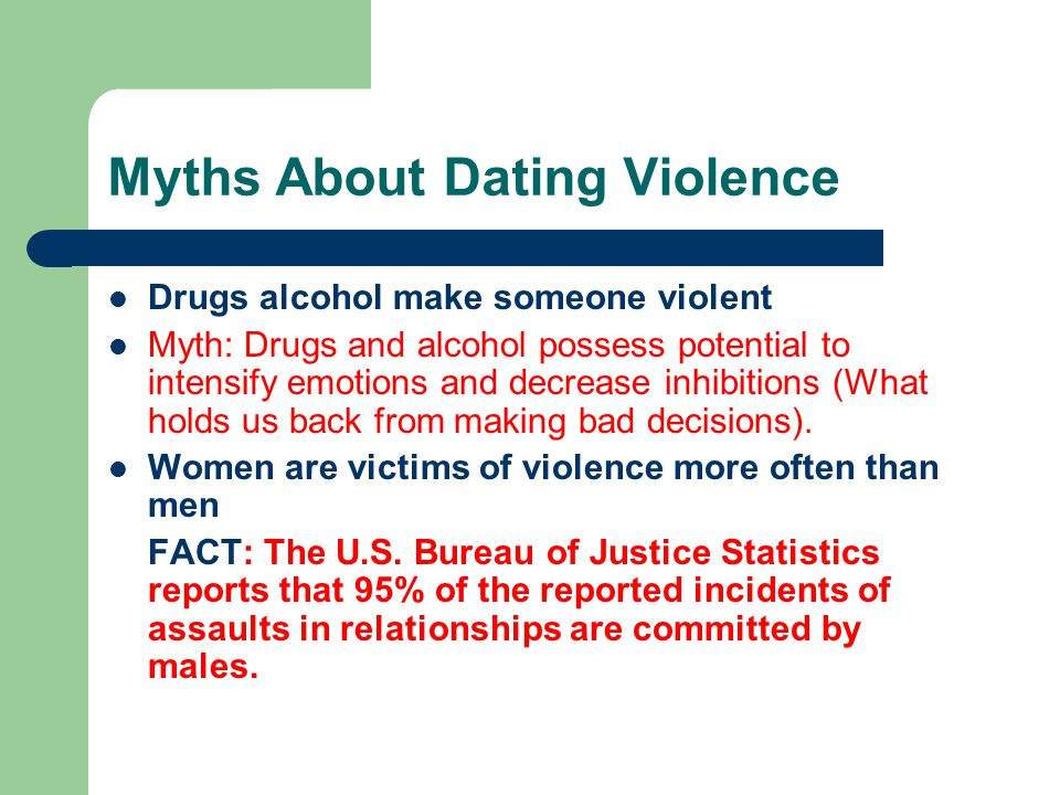 Myths About Dating Violence