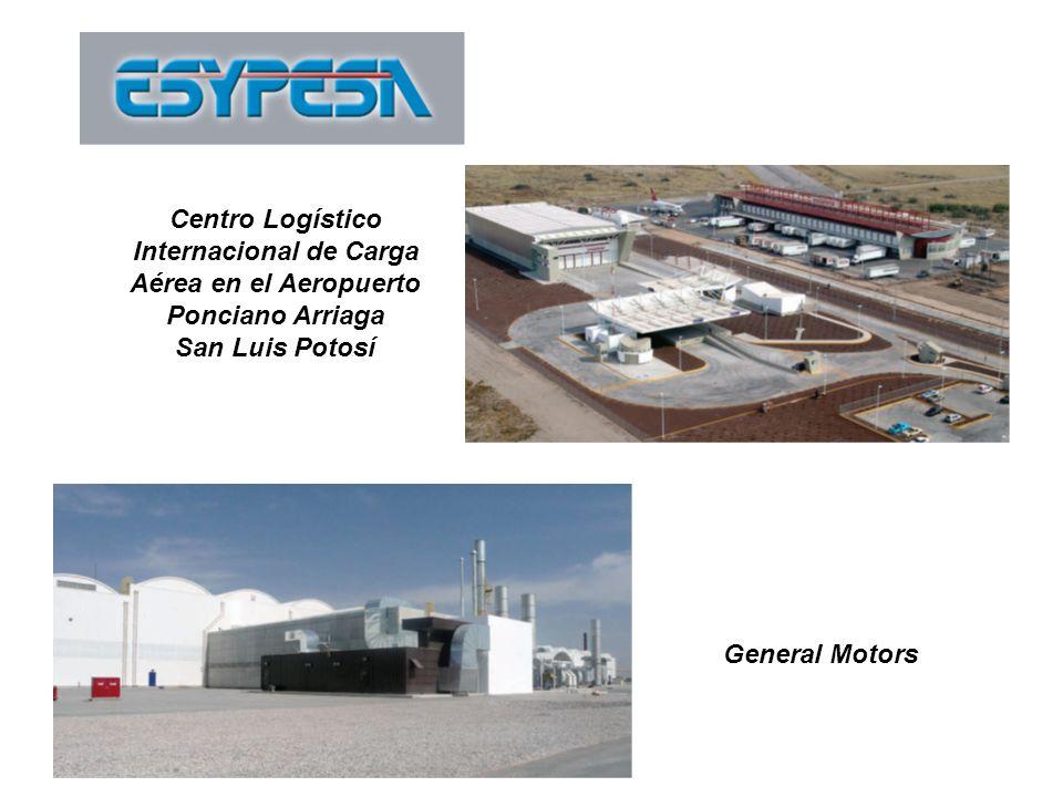Centro Logístico Internacional de Carga Aérea en el Aeropuerto Ponciano Arriaga San Luis Potosí