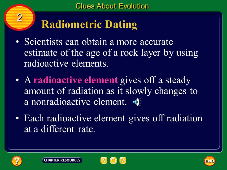 Clues About Evolution 2. Radiometric Dating.