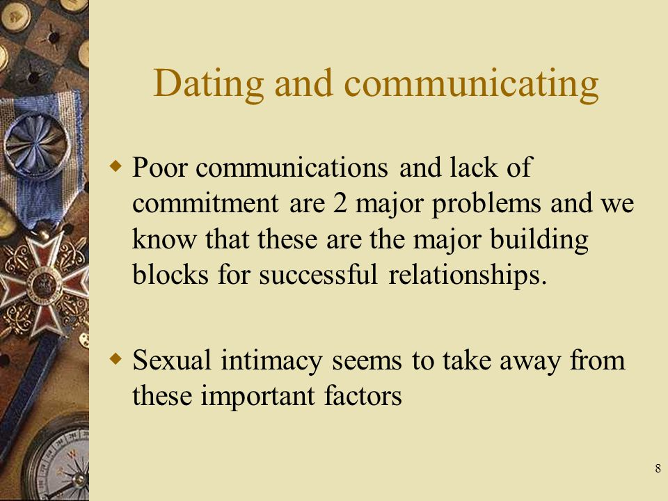 Dating and communicating