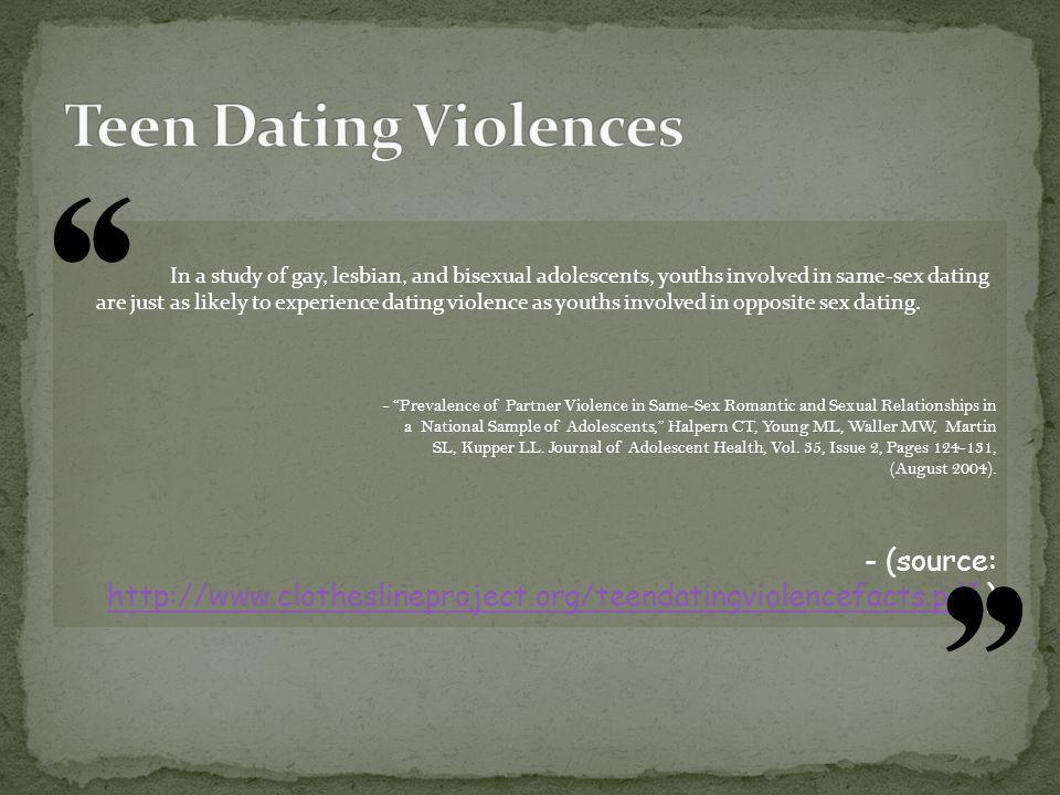 Teen Dating Violences