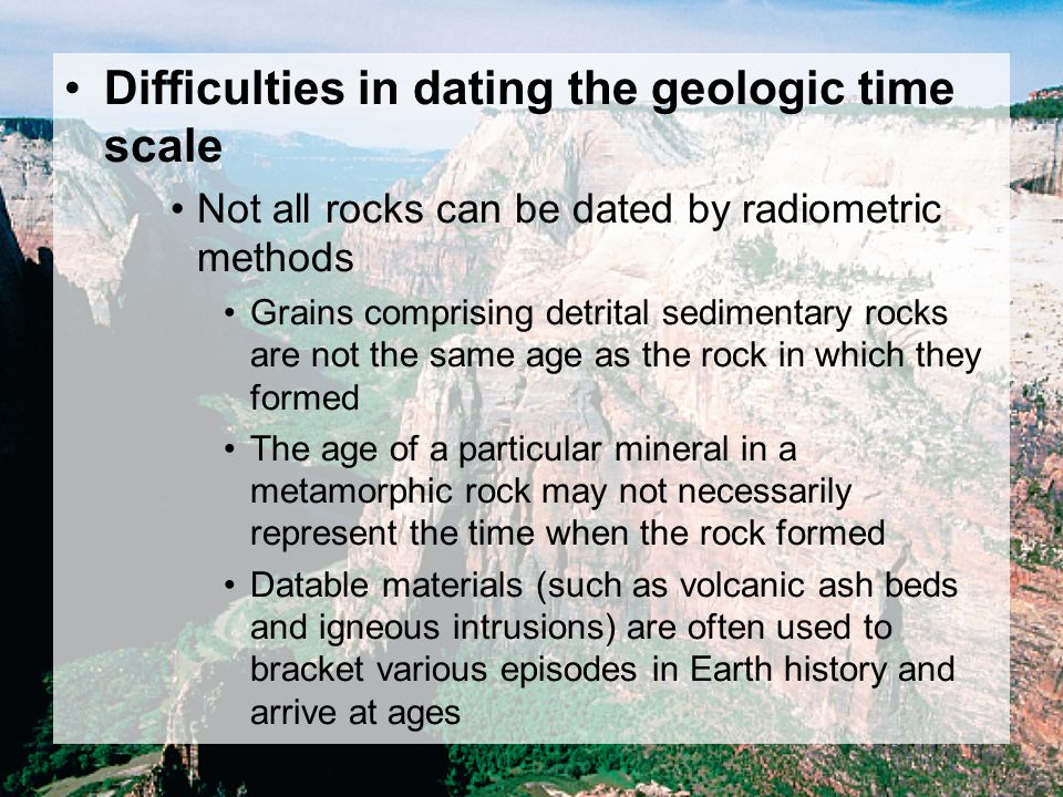 What is an alternative method to radiometric dating