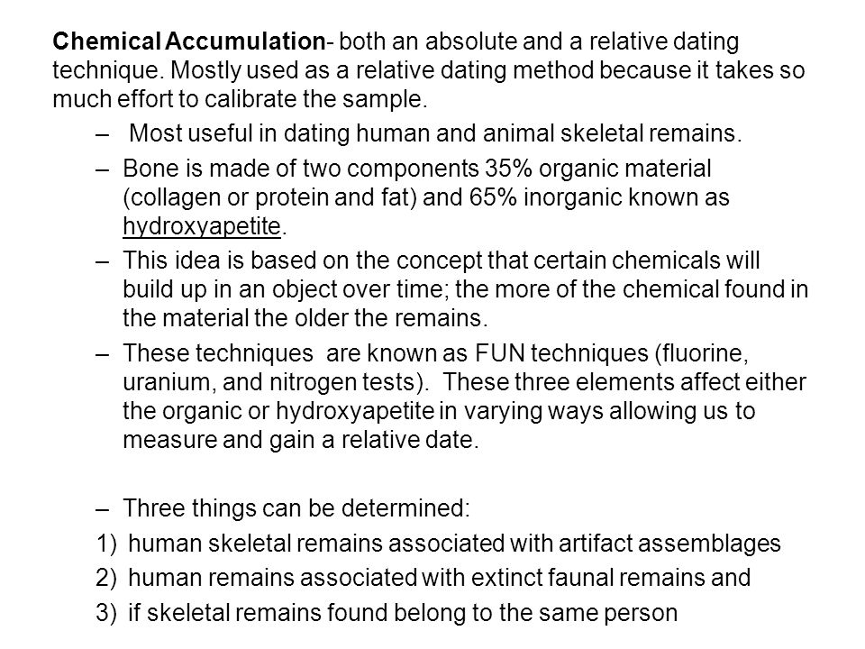 relative vs absolute age dating Distinctions between relative-age and absolute-age the principles for relative age dating described above require no special equipment and geochronology.