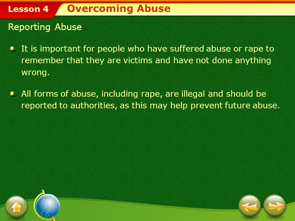 Overcoming Abuse Reporting Abuse