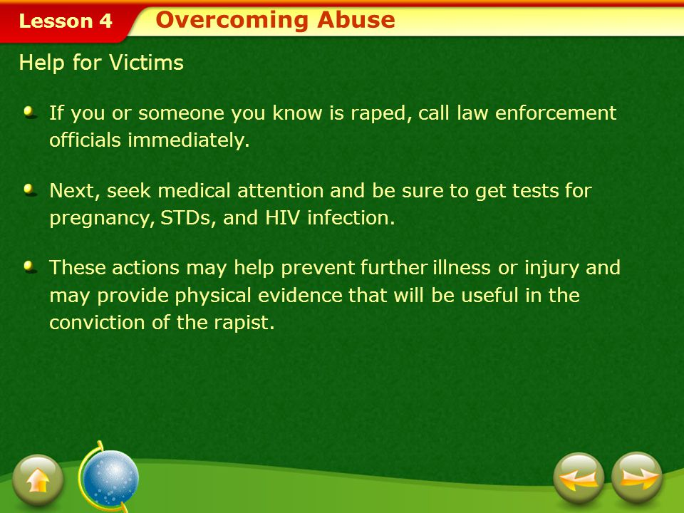 Overcoming Abuse Help for Victims