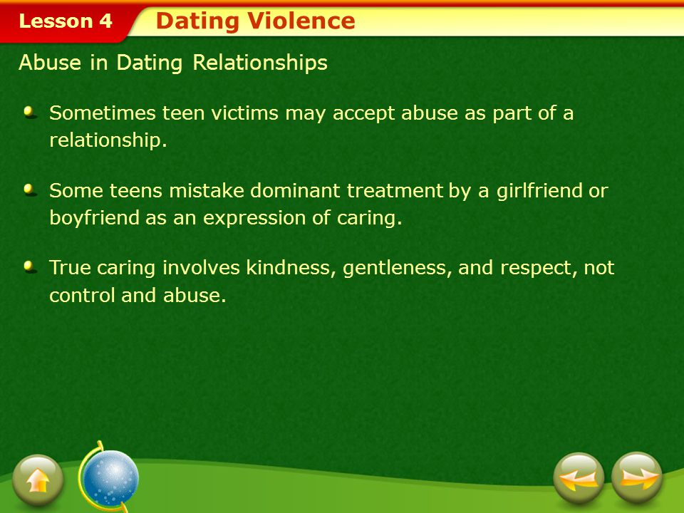 Dating Violence Abuse in Dating Relationships