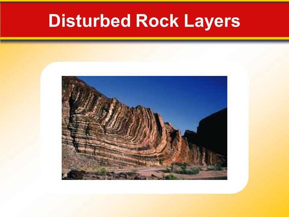 Disturbed Rock Layers Makes no sense without caption in book