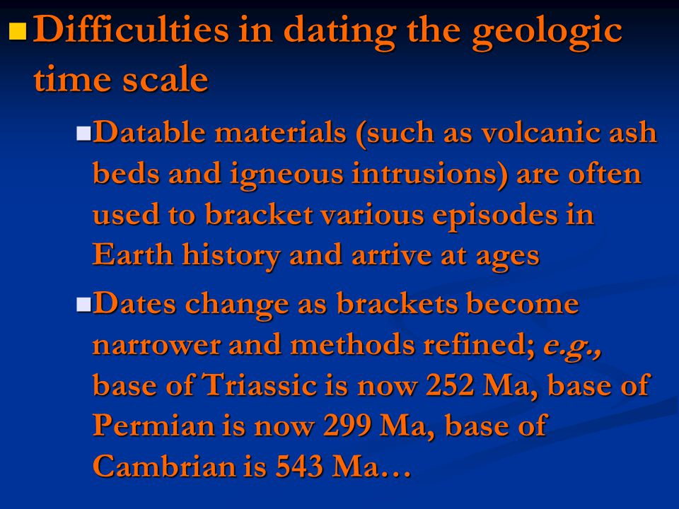 Methods of relative hookup in geology