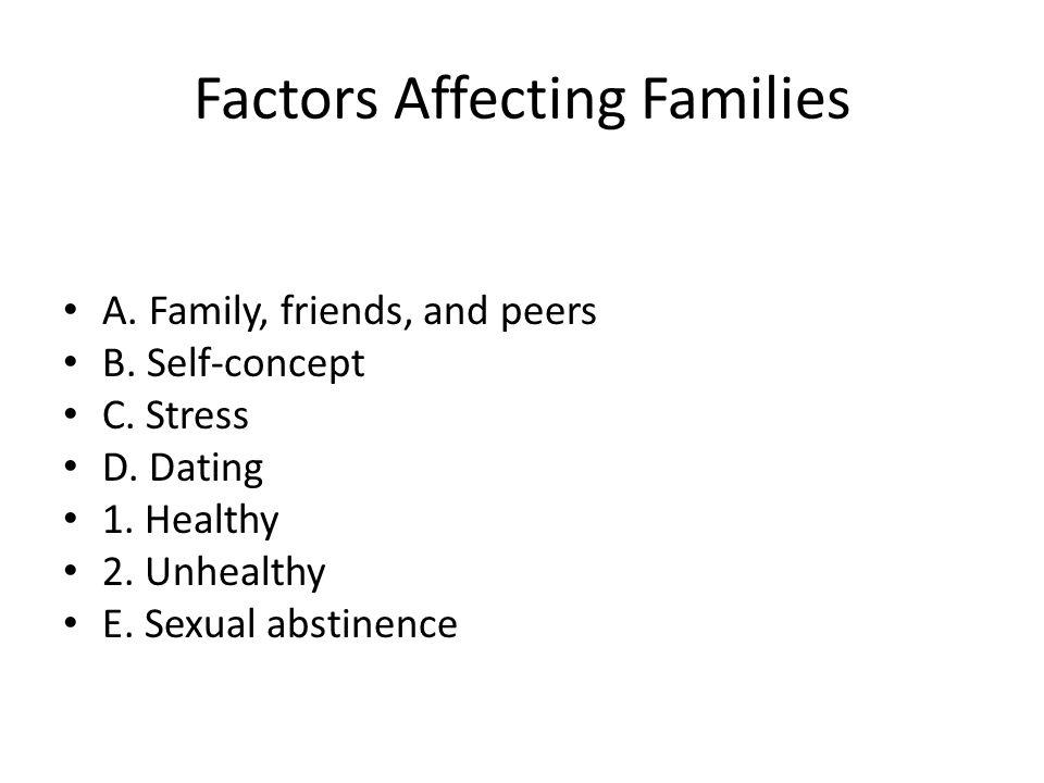 Factors Affecting Families