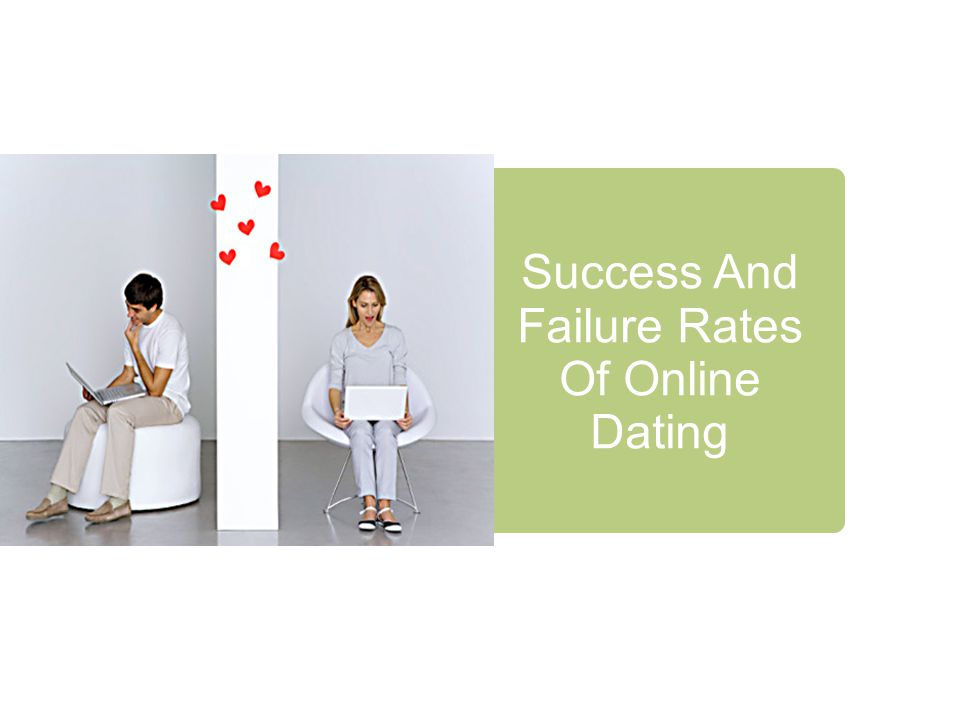 Success rates of online dating sites
