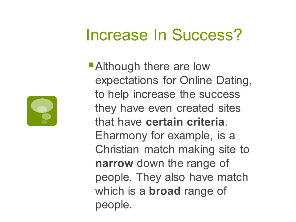 Increase In Success