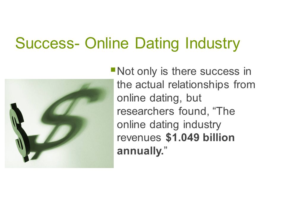 Online dating success rate