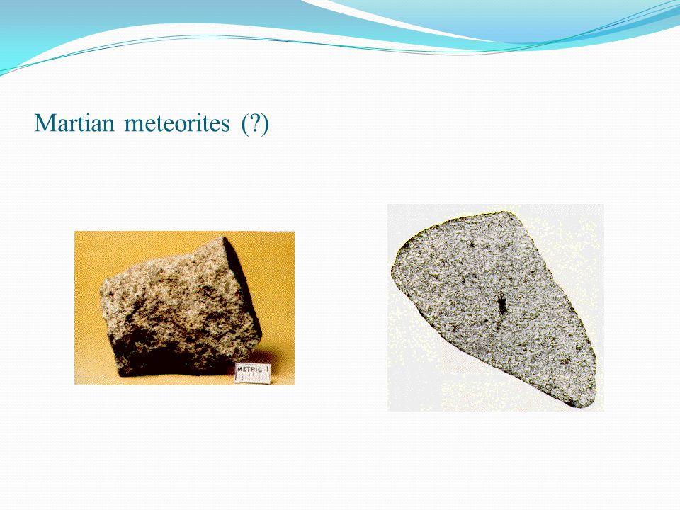 Martian meteorites ( )