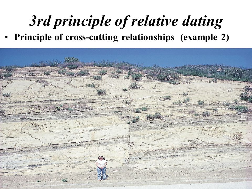 What are the three principles of relative dating Snappy Tots