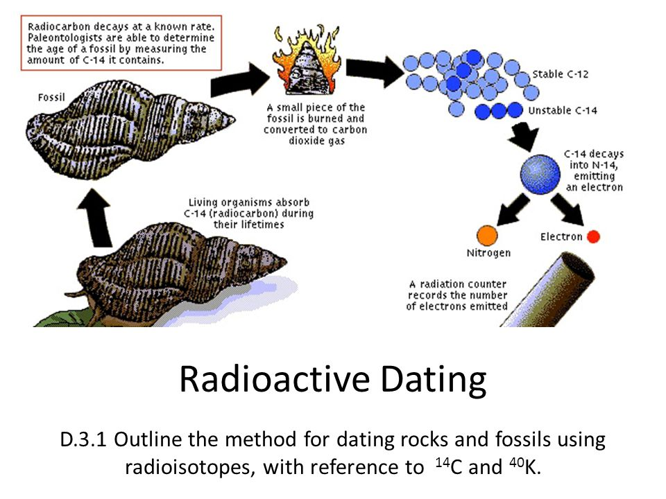 fossil actually is using radioactive dating