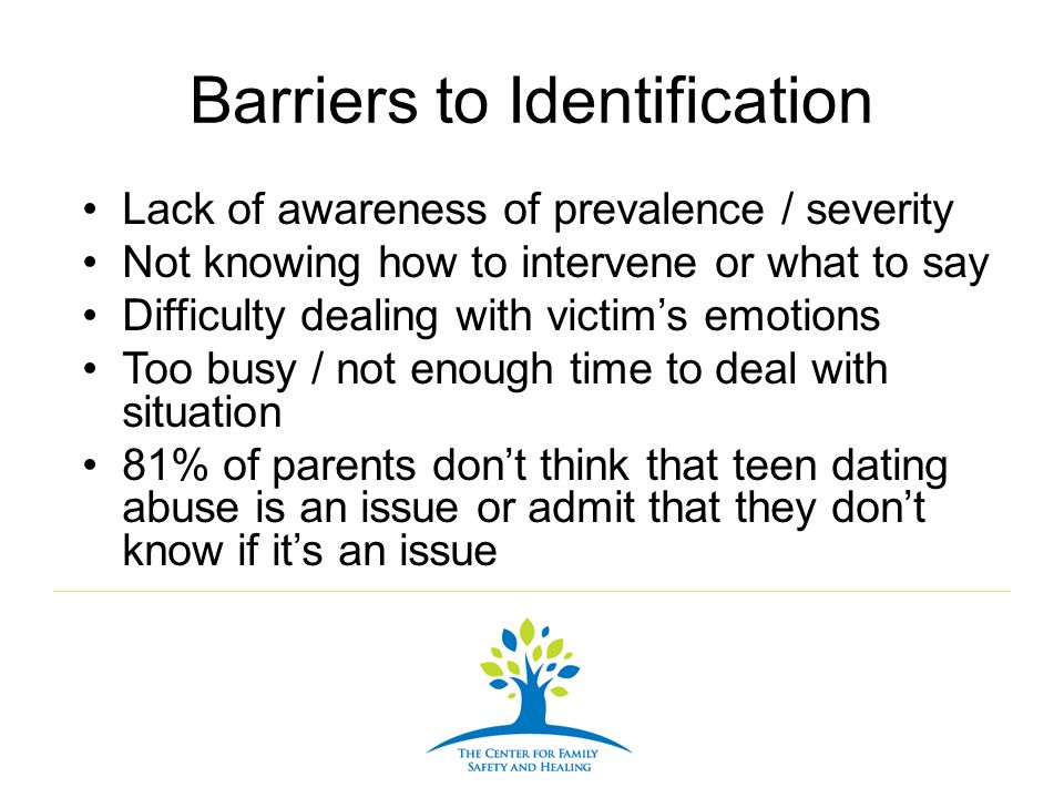 Barriers to Identification
